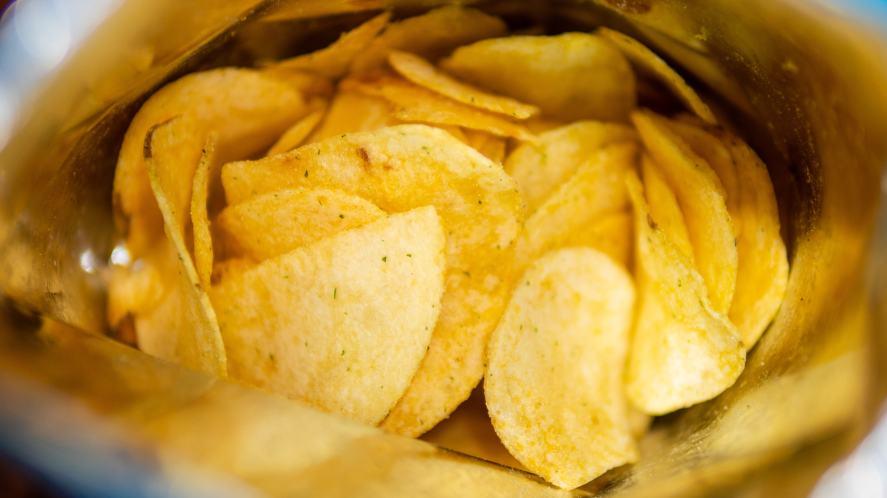 A packet of crisps