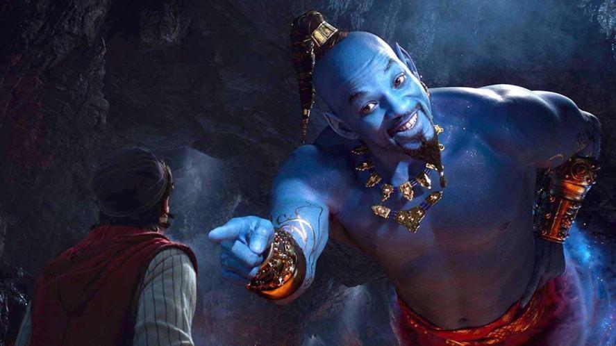 The genie meets Aladdin