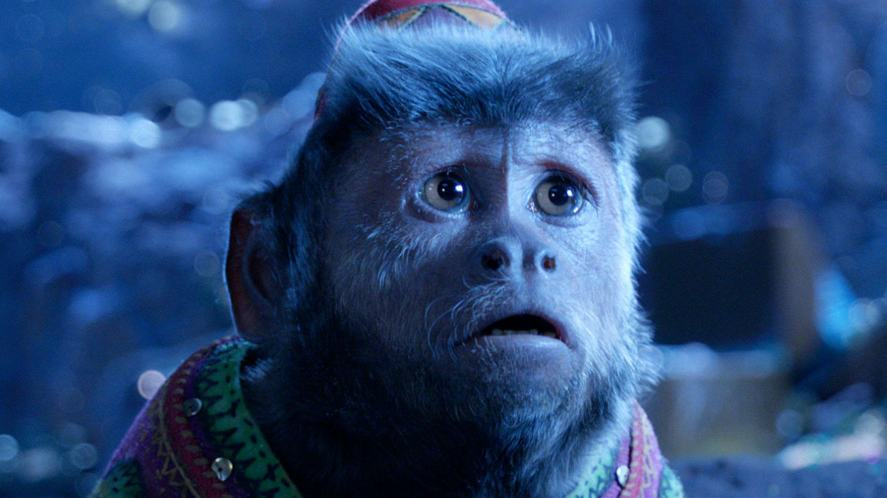 The monkey from the 2019 version of Aladdin