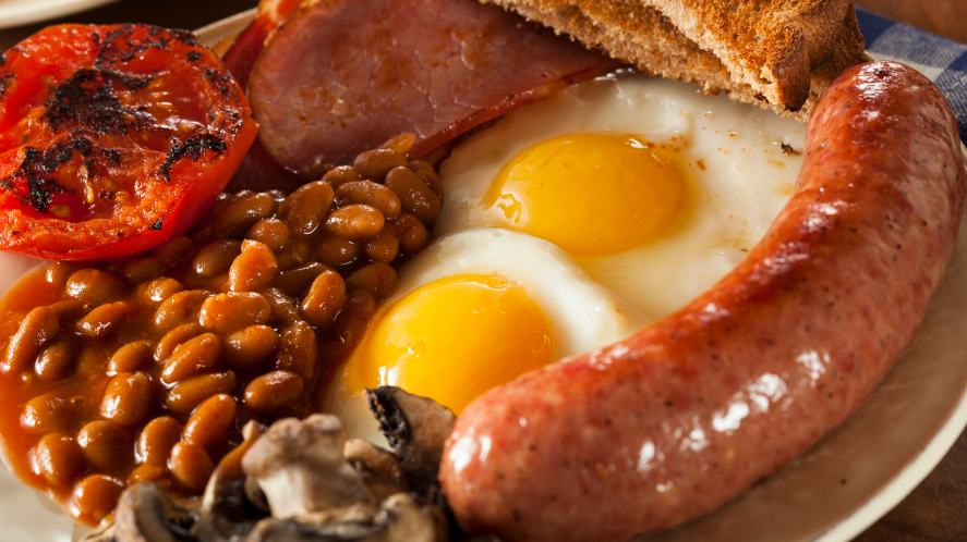 A cooked breakfast