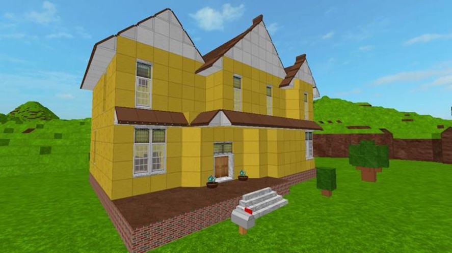 A Roblox house