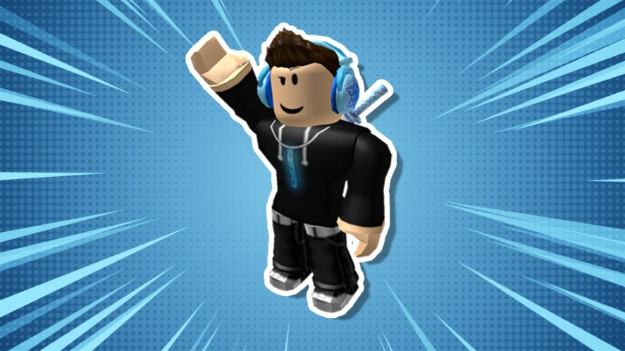 A Roblox character