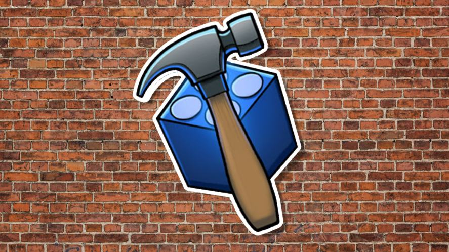 A Bricksmith badge