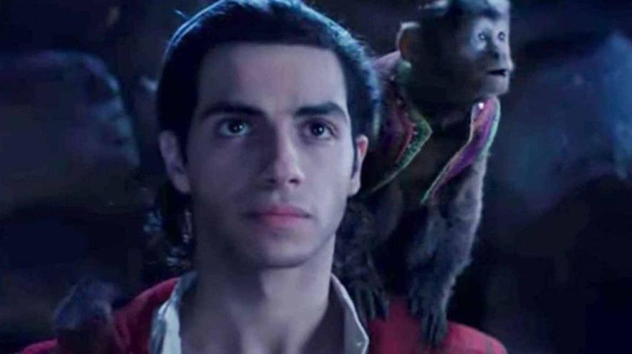 Aladdin and his monkey