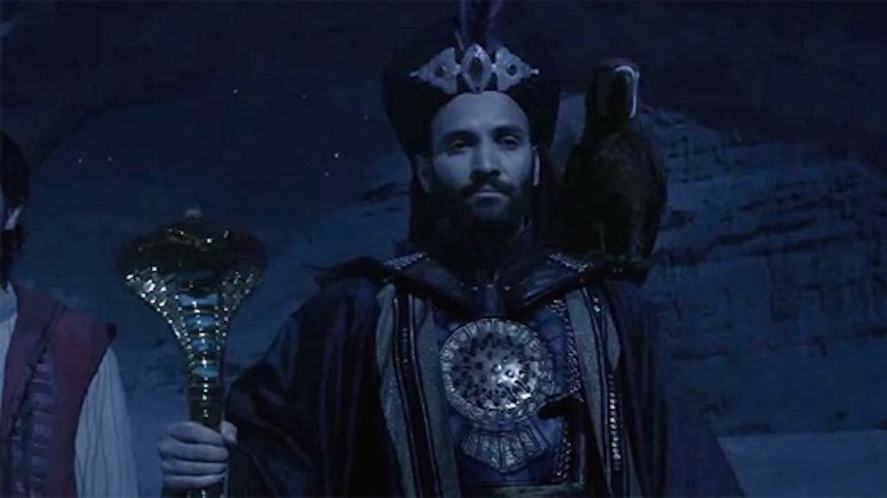 Jafar and his parrot