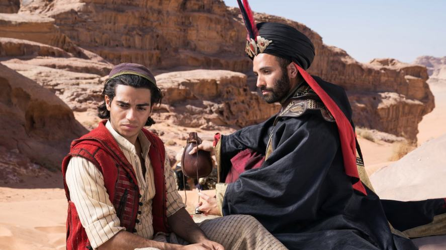 Aladdin and Jafar