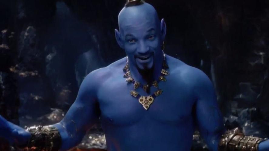 Will Smith in Aladdin