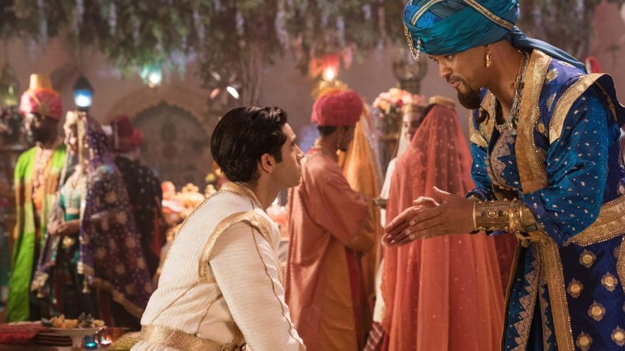 A scene from the 2019 Disney film, Aladdin