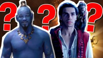 Aladdin 2019 movie song quiz