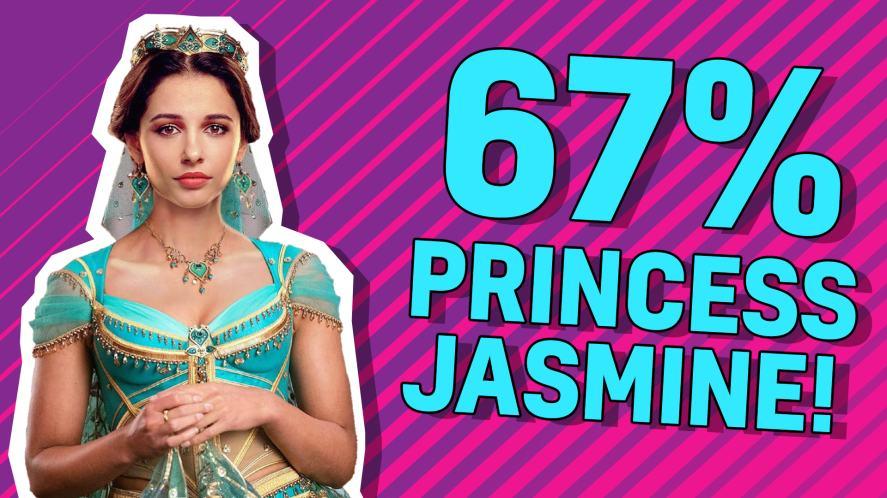 67% Princess Jasmine!