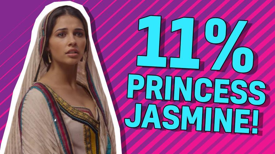 11% Princess Jasmine!