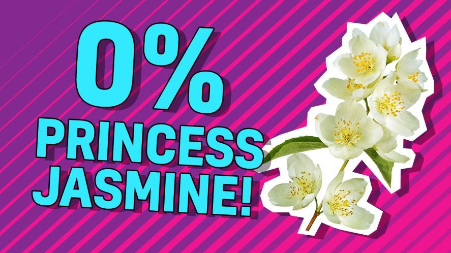 0% Princess Jasmine