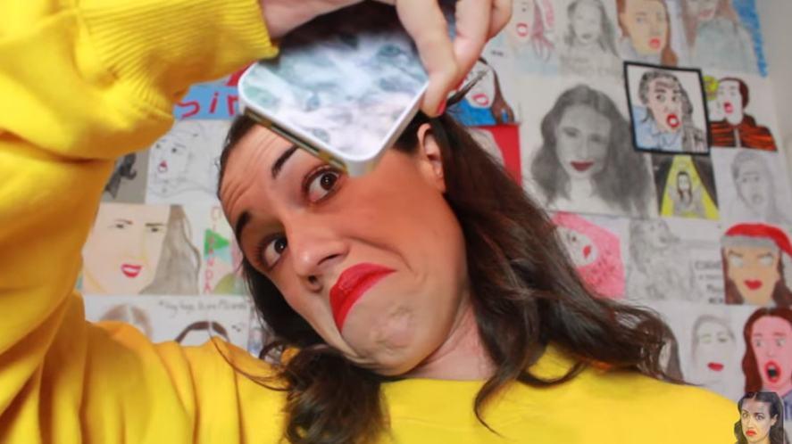 Miranda Sings takes a selfie