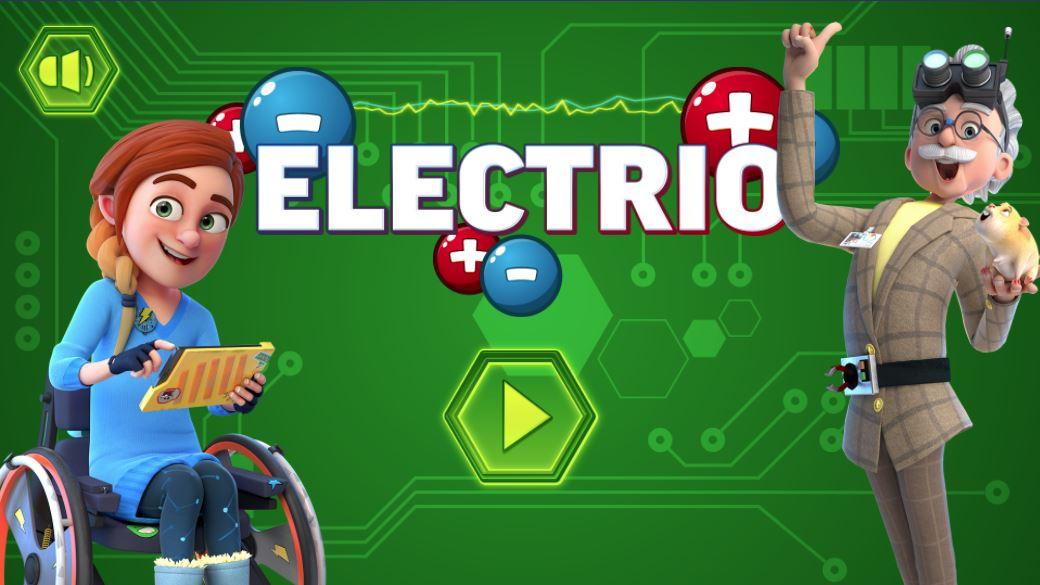 Play Electrio! Help Rubi and Professor Screwtop fix their gadgets!