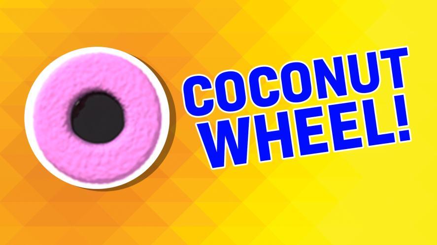 Coconut wheel
