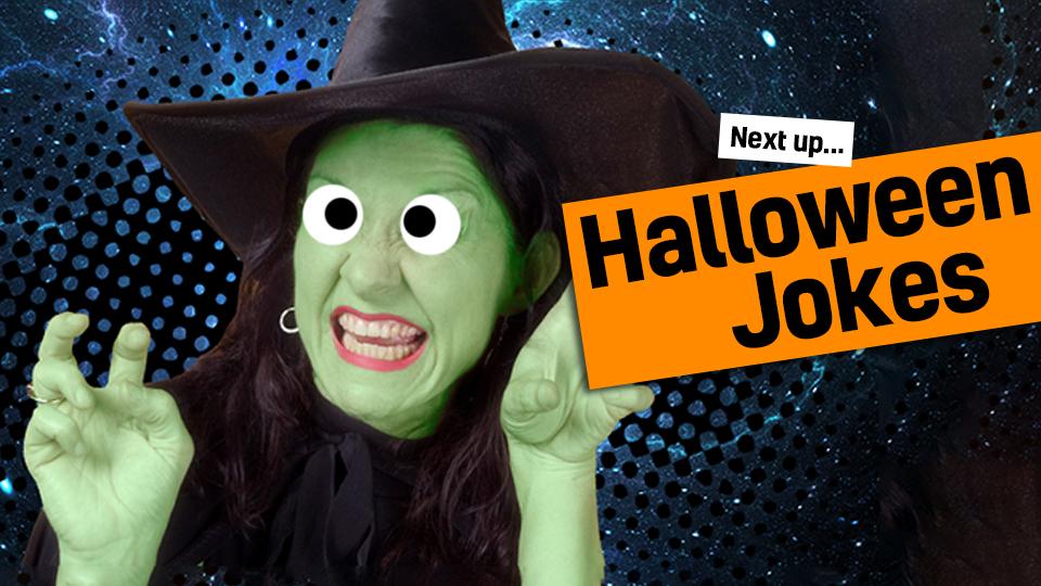 Up Next: Halloween Jokes!