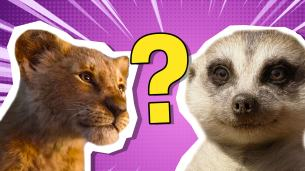 The Lion King personality quiz
