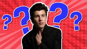 Shawn Mendes trivia quiz