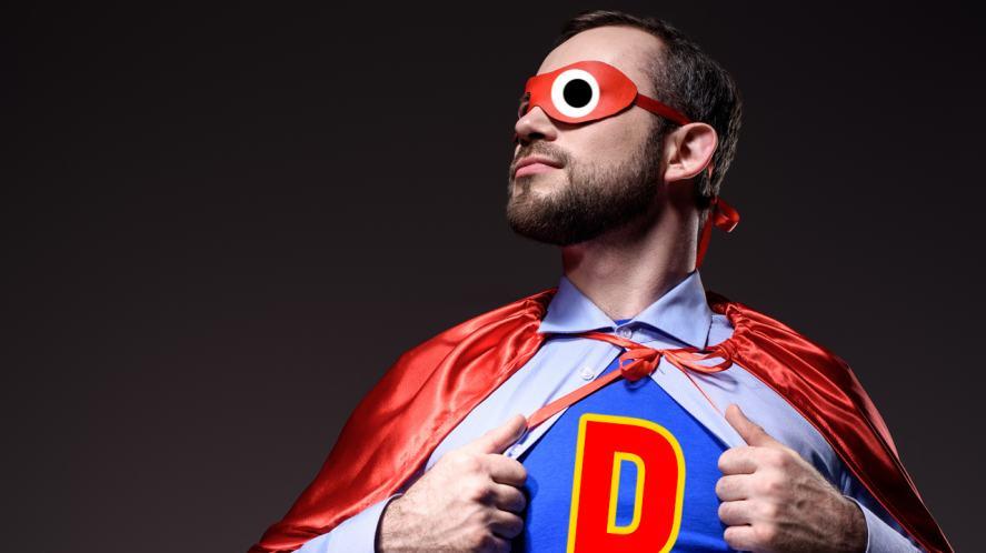 A dad-like superhero
