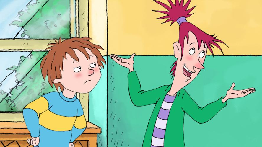 Horrid Henry and his neighbour