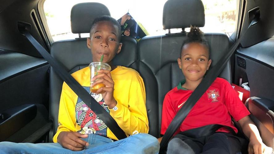 Tekkerz Kid and his big brother