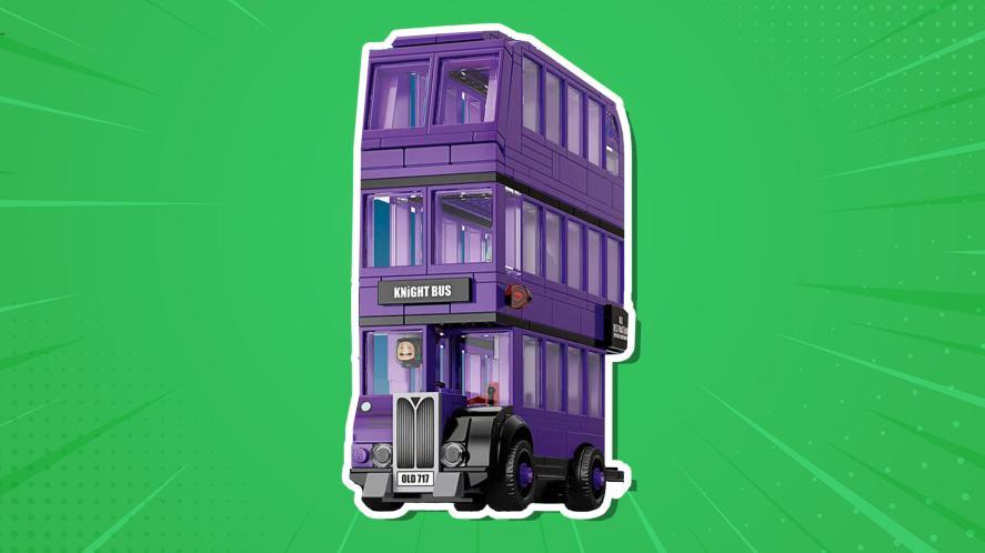 A LEGO Harry Potter Knight Bus