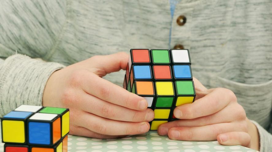 A Rubiks Cube