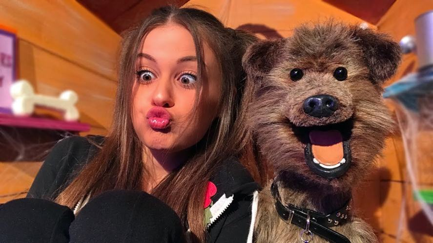 Holly H and Dodge on CBBC