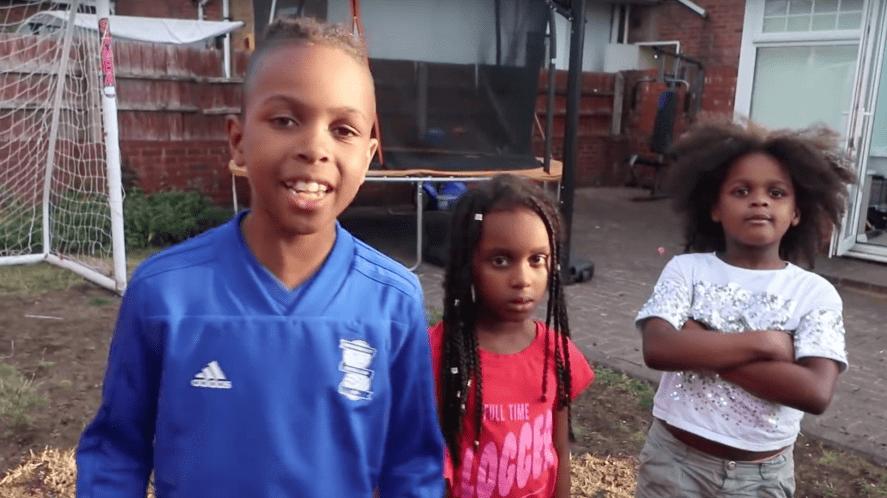 Tekkerz Kid and his sisters