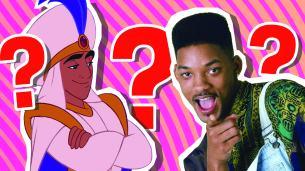 Aladdin and Will Smith