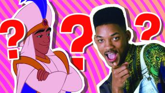Aladdin and Will Smith