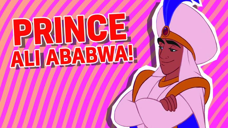 Prince Ali Ababwa aka Aladdin