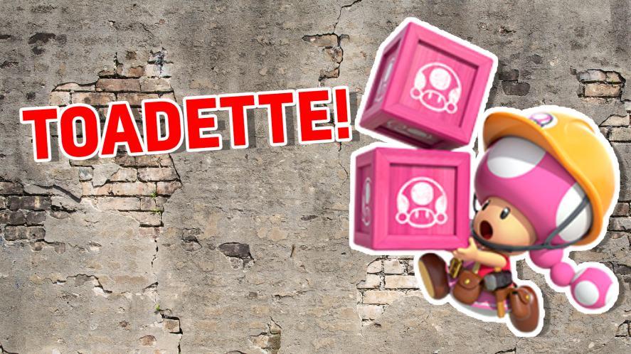 Super Mario Maker 2: Toadette