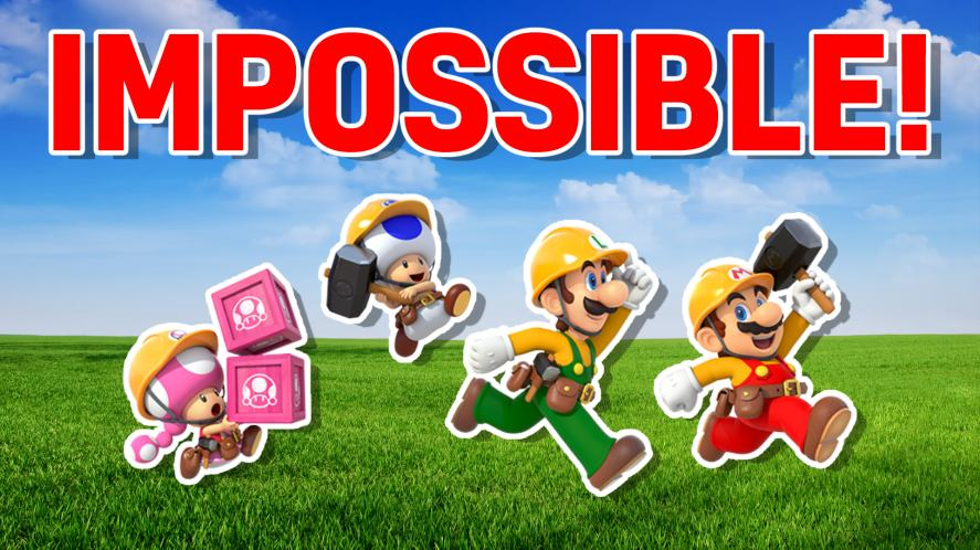 Your Super Mario Maker 2 Style: IMPOSSIBLE!