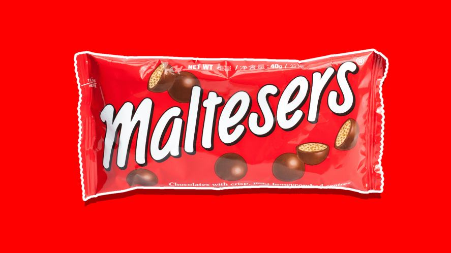 A packet of Maltesers