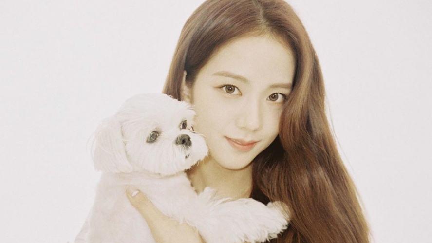 Jisoo and her pet dog