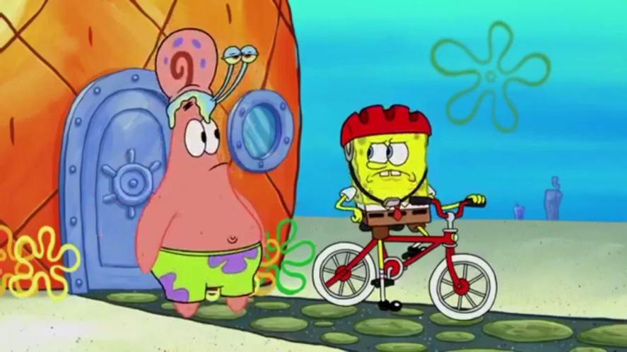 Patrick, Gary and SpongeBob