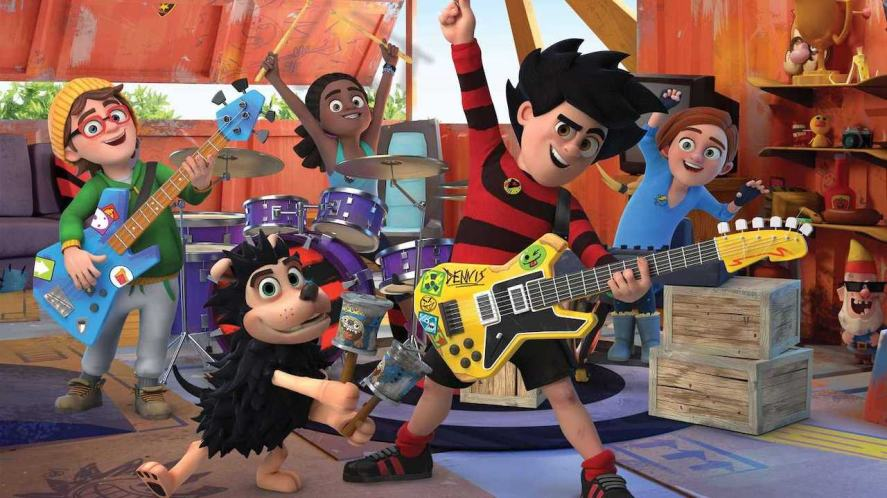 The Dennis and Gnasher Unleashed band