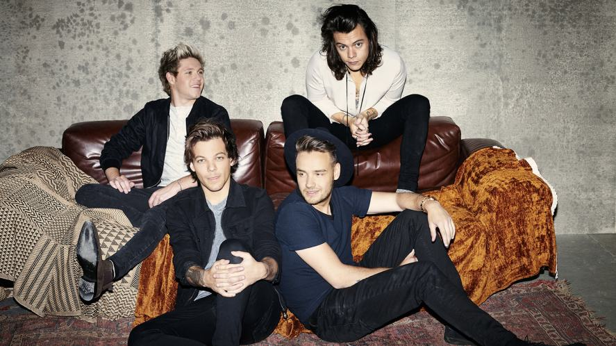 A photoshoot from One Direction's most recent album