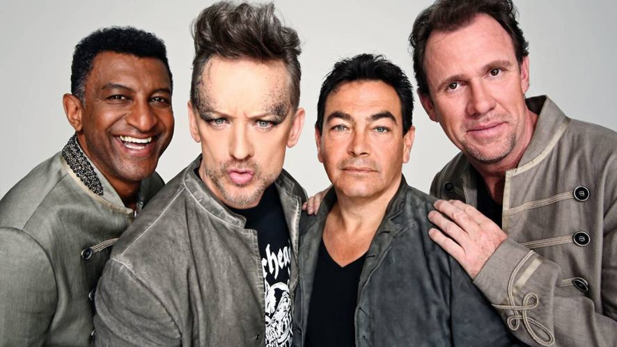 Boy George and his 80s group