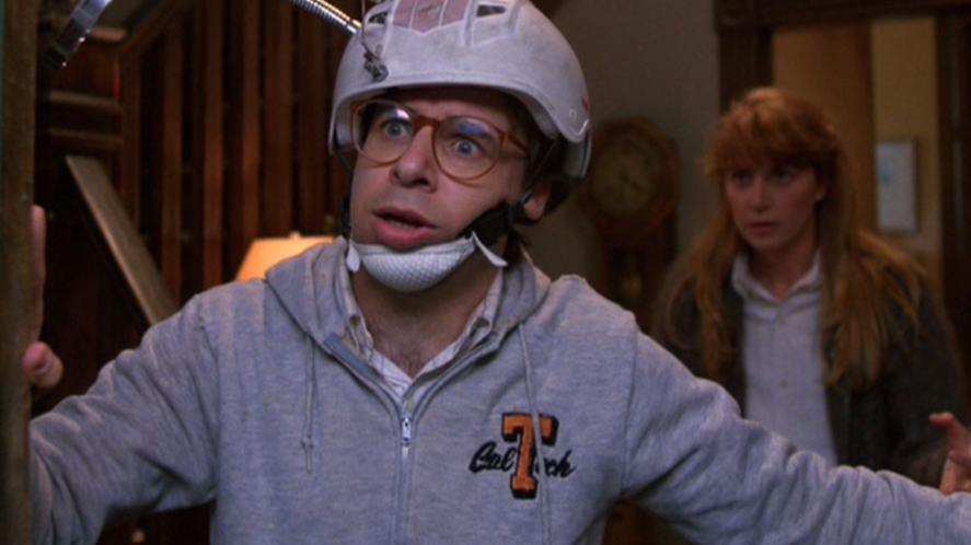 Rick Moranis in Honey, I Shrunk The Kids
