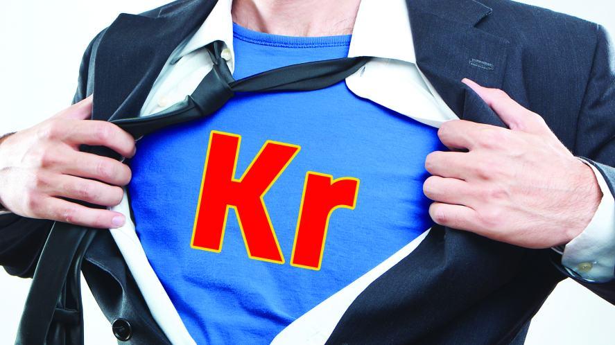 A businessman or superhero?