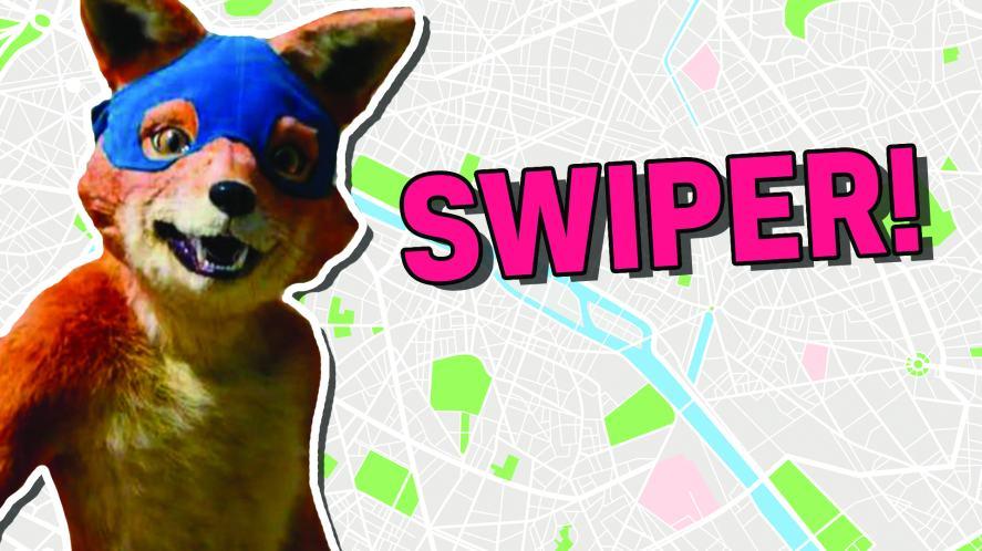 Swiper the fox