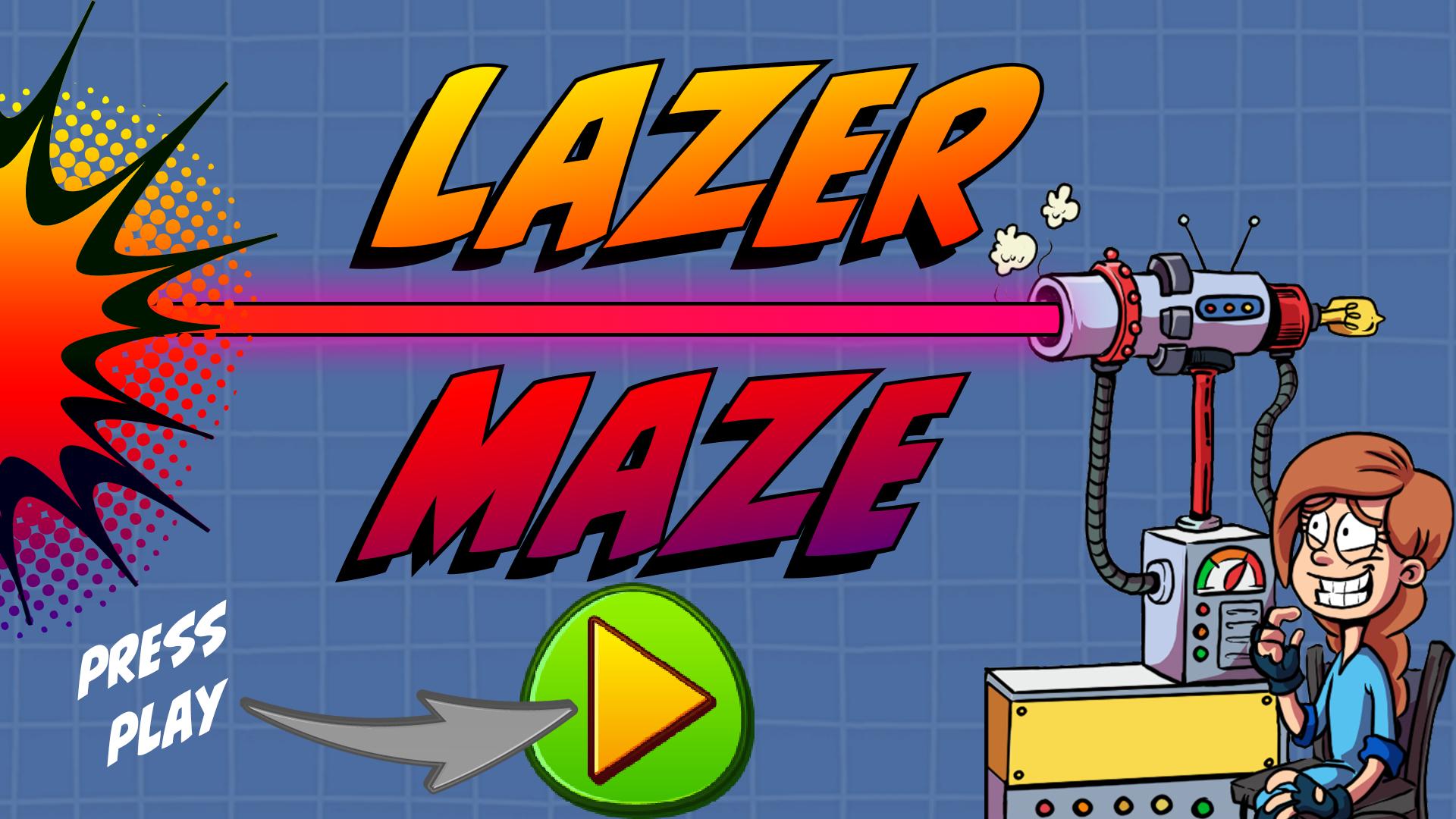 Lazer Puzzle Game: Lazer Maze