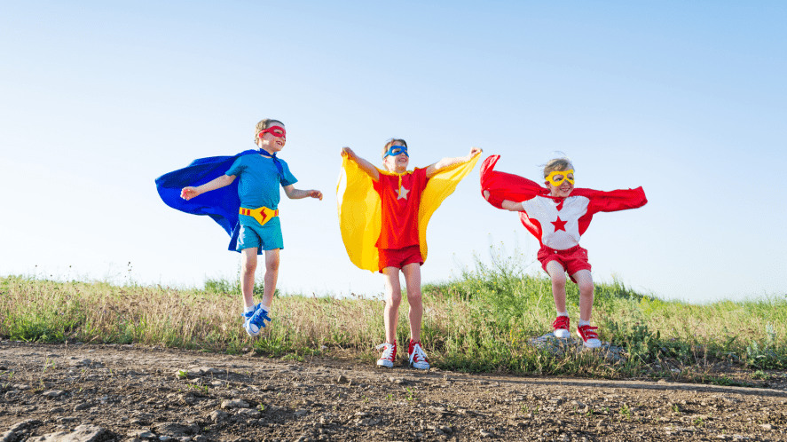 A group of superheroes