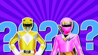 Power Rangers quiz
