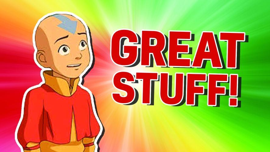 Aang in Avatar: The Last Airbender