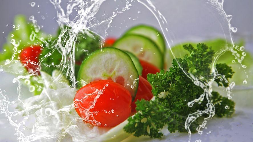 A crisp salad