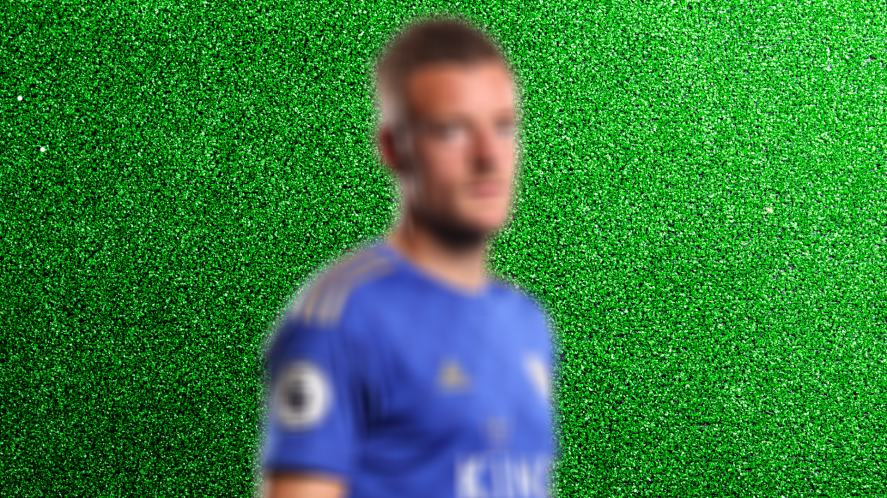 Blurred image of player 9