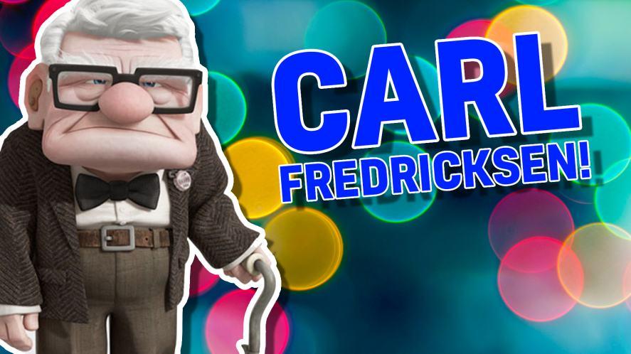 Carl Fredricksen from Up
